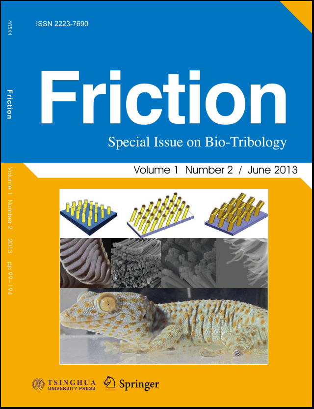 Friction Research Springer