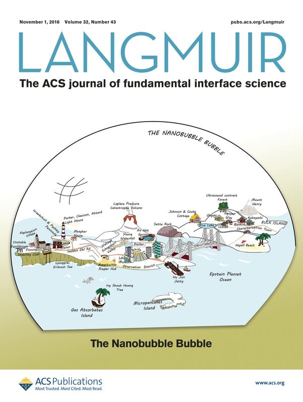 Langmuir Cover Nanobubble